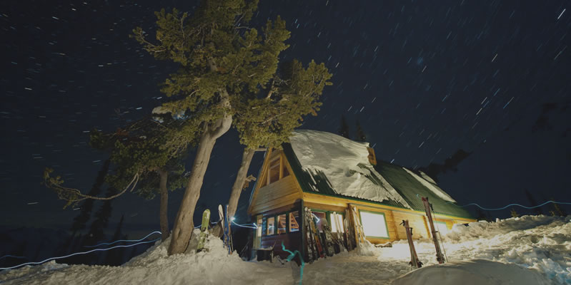 Winter Backcountry Lodges in BC